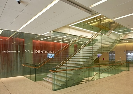 Dental office entryway