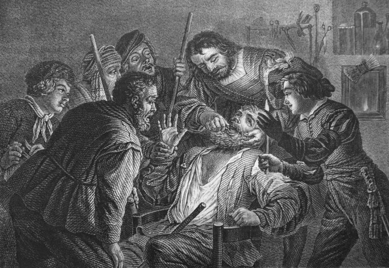 Medieval dental work